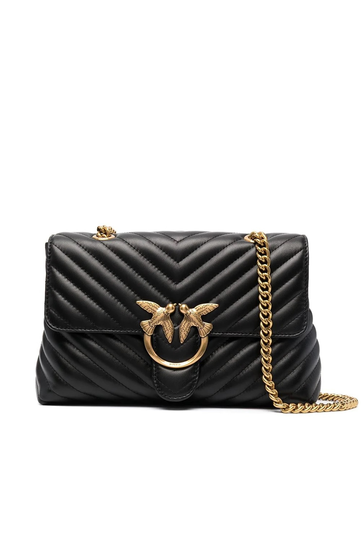 Lady Love Bag Puff V Quilt Black