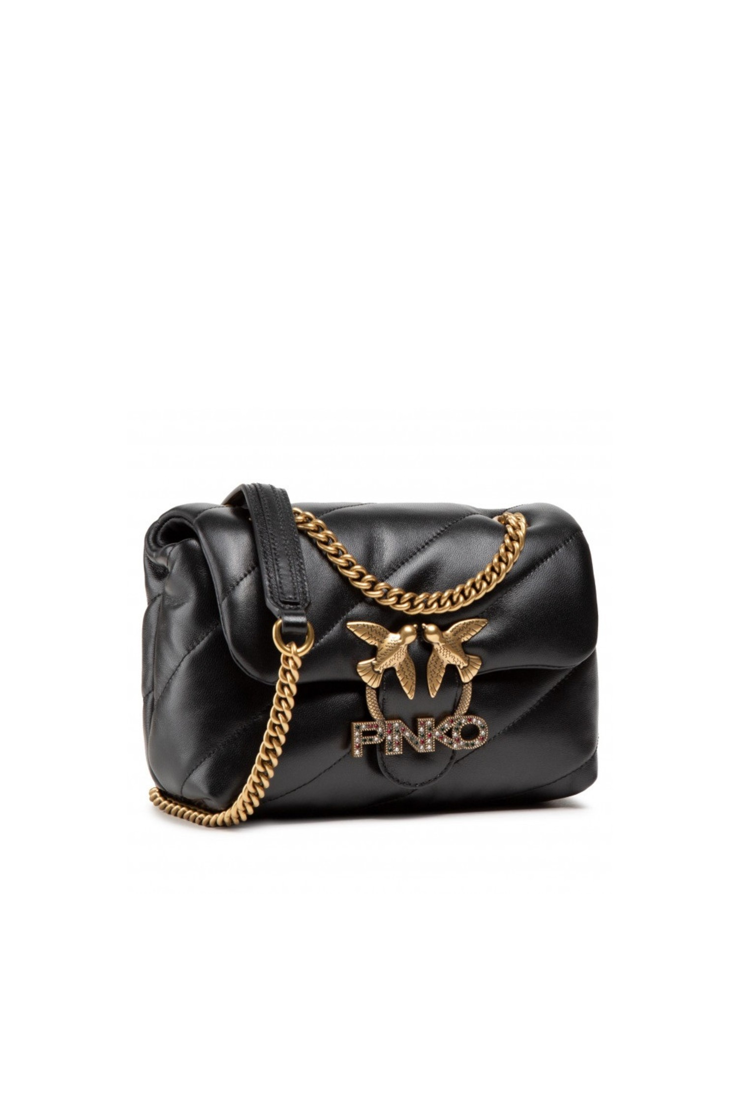 Mini Love Bag Puff Jewel Black
